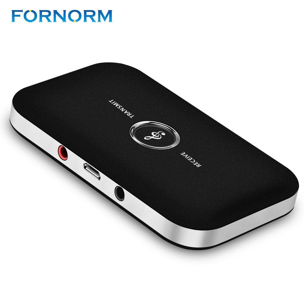 Herrlich Fornorm 2 In 1 Wireless Bluetooth 4,1 Audio Sender Empfänger 3,5mm A2dp Musik Stereo Adapter Für Home Auto Stereo Tv Mp3/4 Pc Im Sommer KüHl Und Im Winter Warm Tragbares Audio & Video Unterhaltungselektronik