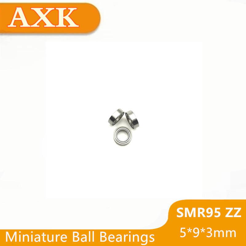 440c Stainless Steel Ball Bearings Bearing MR95ZZ QTY 10 5x9x3 mm SMR95ZZ