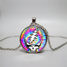 Glass Necklace men and women Jewelry Pendant DIY customized photos custom necklace