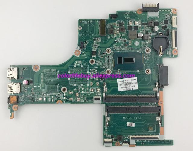 Echtes 806830 501 806830 001 806830 601 i3 5010U CPU DAX12AMB6D0 Laptop Motherboard für HP 14 AB serie 14T AB000 NoteBook PC