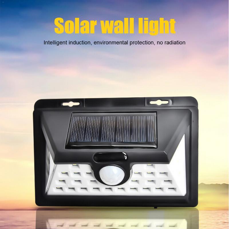 GemäßIgt 32led Solar Wand Licht Motion Sensor Wasserdichte Wand Lampe Energie Saving Sicherheit Beleuchtung Wasserdicht Garten Hof Straße