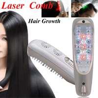 Hair Regrowth Laser Comb Micro Current for Hair Loss Alopecia Scalp Massage Remove Dandruff Thinning Hair Health Repair Growth