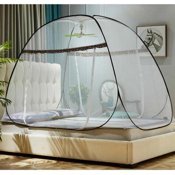 Magic Pop-Up Klamboe Tent Voor Bedden Anti Muggenbeten Opvouwbare Ontwerp Met Netto Bodem Voor Babys Volwassenen reizen