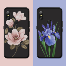 Luxury Flower Case For Xiaomi Mi 8 A1 A2 Lite Silicone Floral Cover 6 Pro SE Bumpers Funda Coque