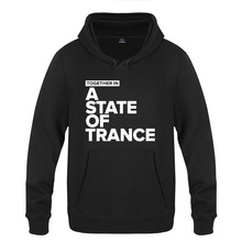 Together In A State of Trance   Armin Van Buuren Hoodies Men 2018 Mens Pullover Fleece Hooded Sweatshirts