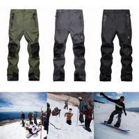 Ski Pants Men Thin Windproof Waterproof Outdoor Men's Pants Hiking Pants