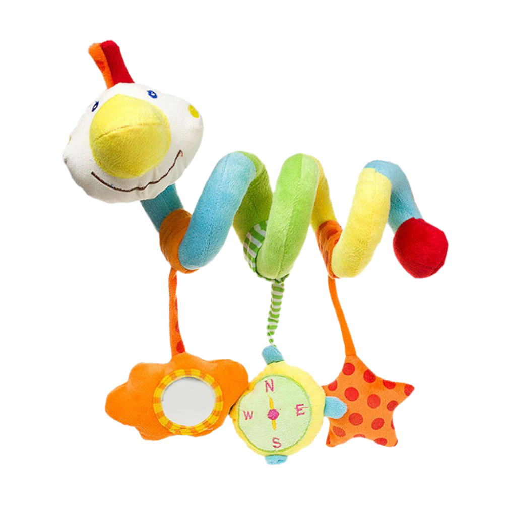 Baby Rattles & Mobiles 1pc Kid Crib Hanging Toy Stuffed Duck Plush Colorful Appease Music Toy Around Toy Crib Toy For Newborn Toddlers Baby Infant By Scientific Process