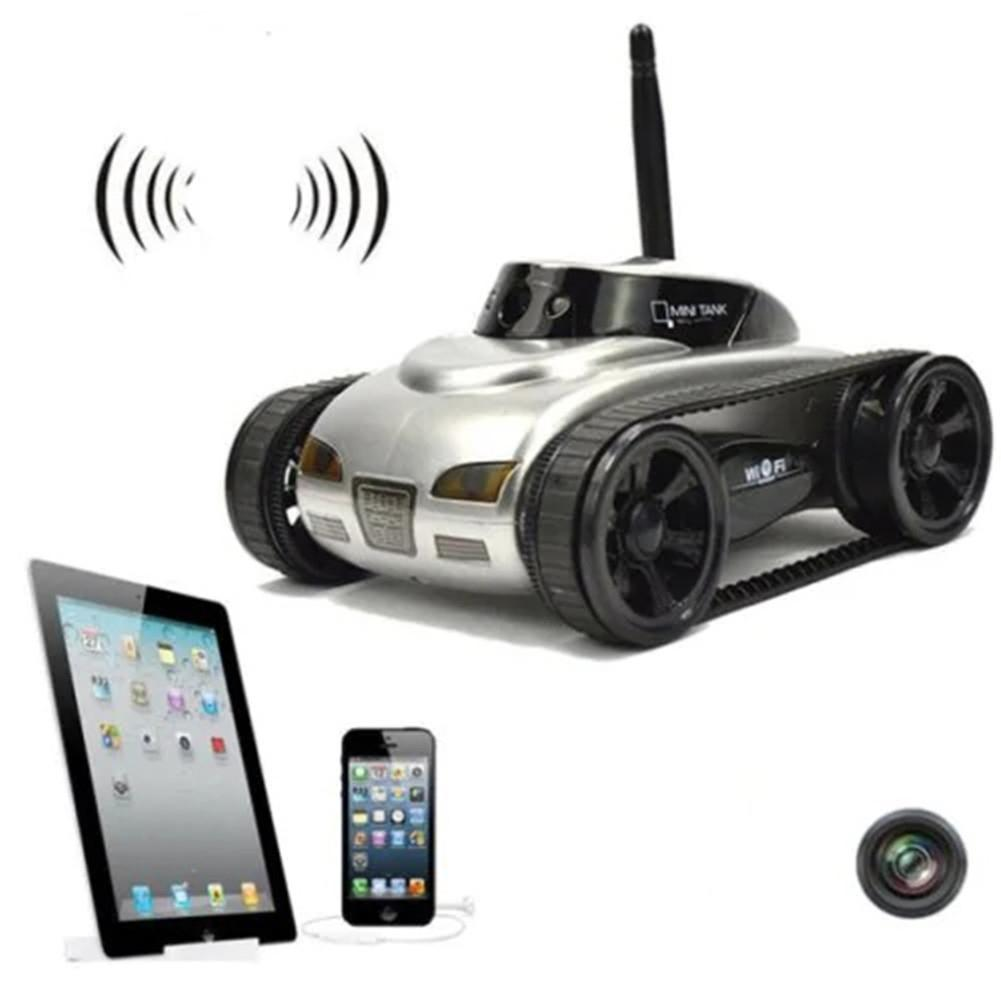 RCtown Real time Transmission Video Wifi Tank RC Car with Camera Toy