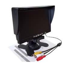800x480 Full Color 7 Inch TFT LCD FPV Monitor For 5.8Ghz Receiver Car Display RC Drone Racer FPV Parta Accessories(China)
