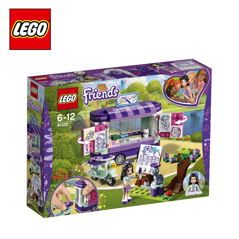 Blocks LEGO 41332 Friends play designer building block set  toys for boys girls game Designers Construction 2017 new friends heartlake stables girls mia s farm building blocks 272pcs set bricks toys compatible with bale 10163