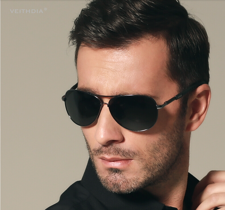 Sunglasses for men with a long face