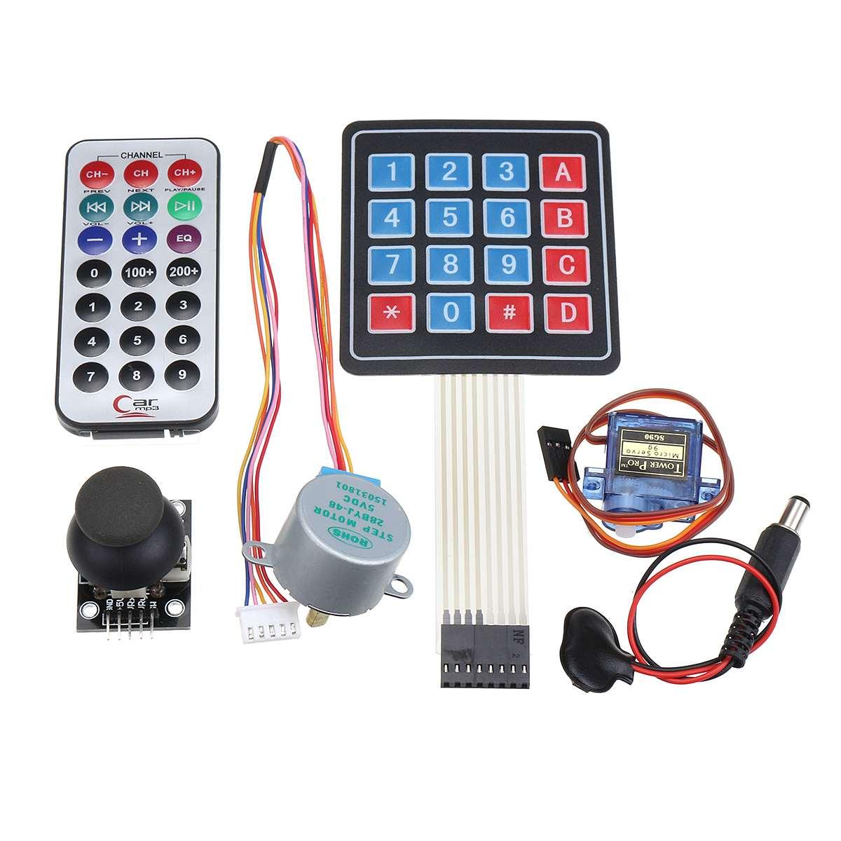 Pour UNO R3 Kit de démarrage avec OLED SPI bluetooth LCD1602 RTC DHT11 pour Version Arduino SMD - 2