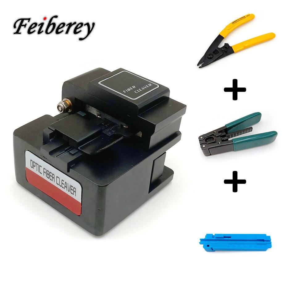 3 1 で FTTH ツールキット含む高精度光ファイバクリーバー、 CFS 2 剥離プライヤーと光学ケーブルシースストリッパー  グループ上の 携帯電話 & 電気通信 からの 光ファイバ機器 の中 1