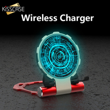 KISSCASE QI Wireless Charger For iPhone X XS Max XR 8 Plus Foldable 10W Fast  Samsung S8 S9 Note8 9