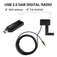 DAB Car Radio Tuner Receiver box USB Stick Antenna USB Dongle Digital Audio Broadcasting for Android