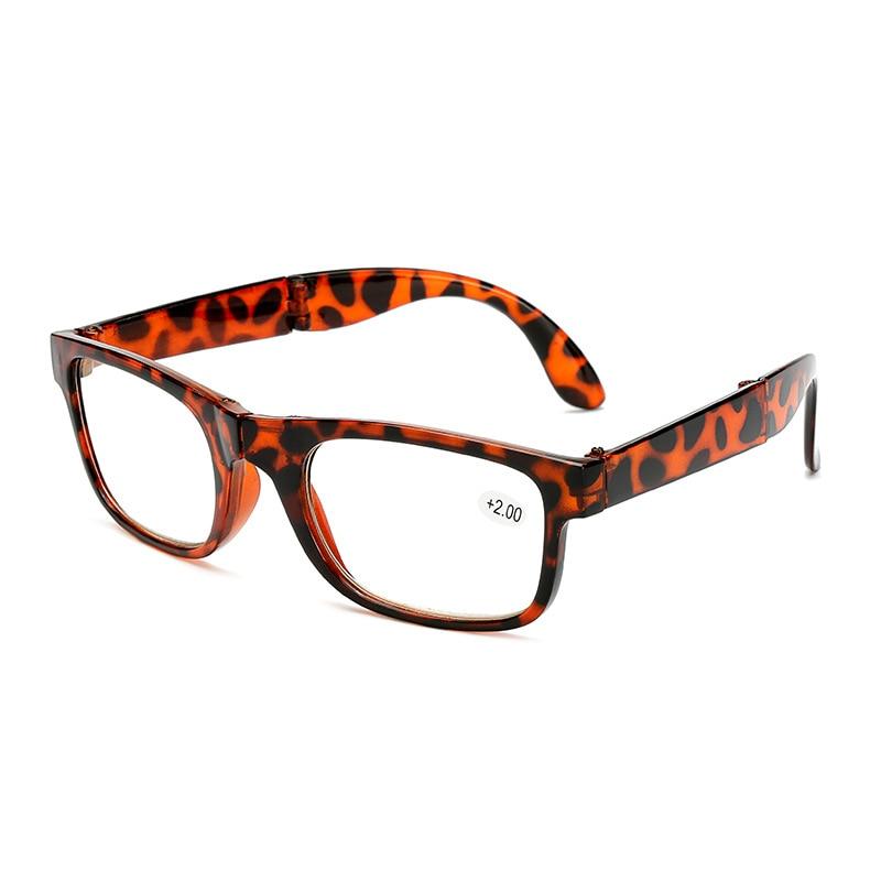 iboode Folding Reading Glasses Men Women Blue Film Unisex Eyeglass With Case Cloth Presbyopia 1 0
