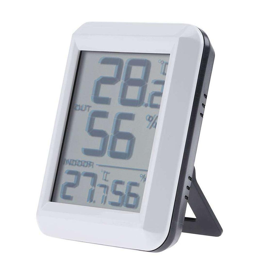 Новинка, электронный измеритель температуры и влажности для помещений и улицы, Беспроводная метеостанция с термометром, гигрометром