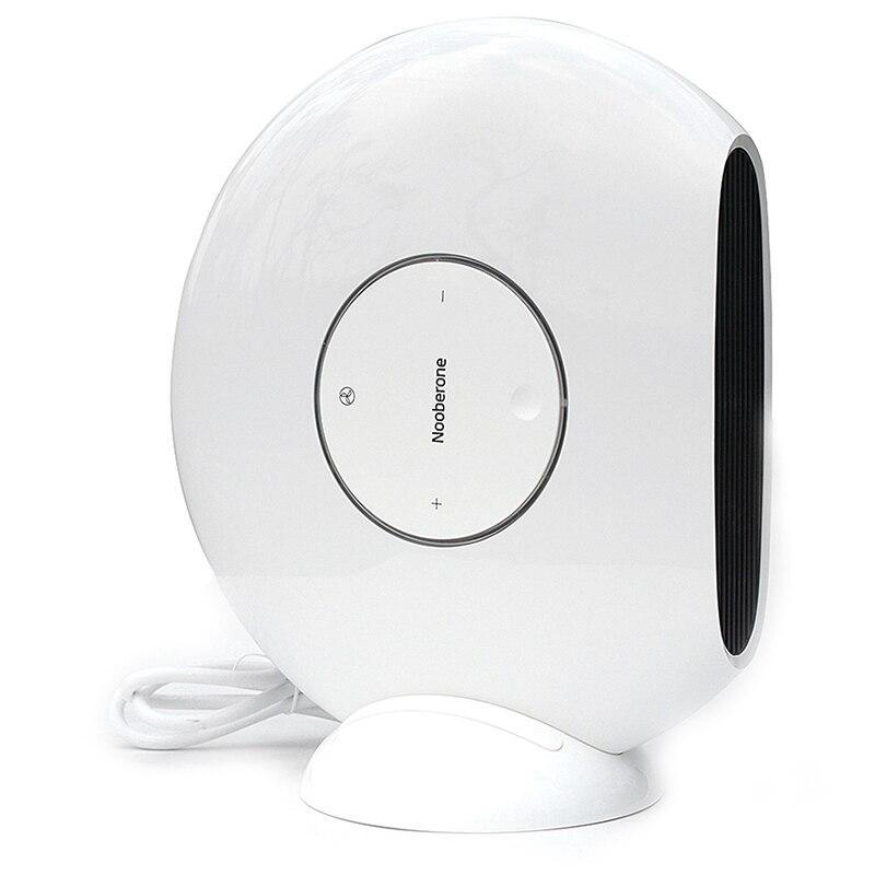 Appareil de chauffage électrique 1000 W Mini ventilateur de chauffage domestique 3 secondes chauffage rapide refroidissement double usage Machine de chauffage à économie d'énergie