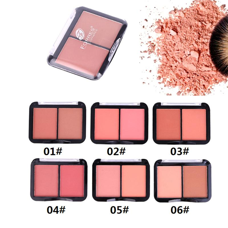 Blush 2 colors blush naturally lasting Makeup palette waterproof Rouge cosmetics