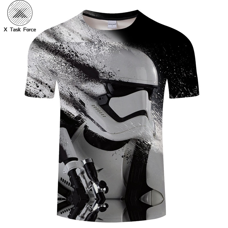 New 2019 Harajuku T Shirts Yoda /Darth Vader Star Wars Printed 3d T Shirt Men /Women Tshirt Streetwear Hip Hop T -Shirt Casual T