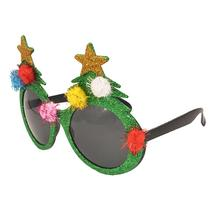 dda66d6d31 Christmas Tree Sunglasses Glasses Photo Props Children Party Supplies Party  Favors for Halloween Cosplay Birthday Costume