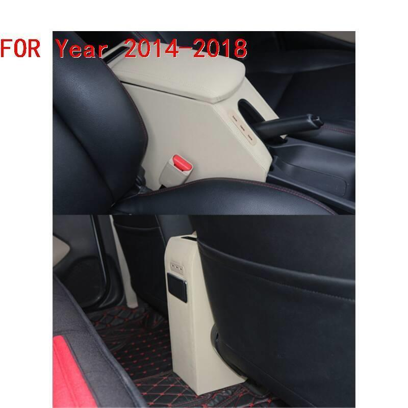 protector Car styling Arm Rest Car Auto Automobiles Decorative Styling Modification Armrest Box 14 15 16 17 18 FOR Honda City in Armrests from Automobiles Motorcycles