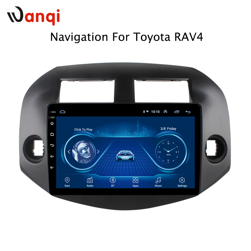 10.1inch Android 8.1 Car GPS Navigation for Toyota RAV4 2007-2012 Support Stereo Audio Radio Video Bluetooth10.1inch Android 8.1 Car GPS Navigation for Toyota RAV4 2007-2012 Support Stereo Audio Radio Video Bluetooth