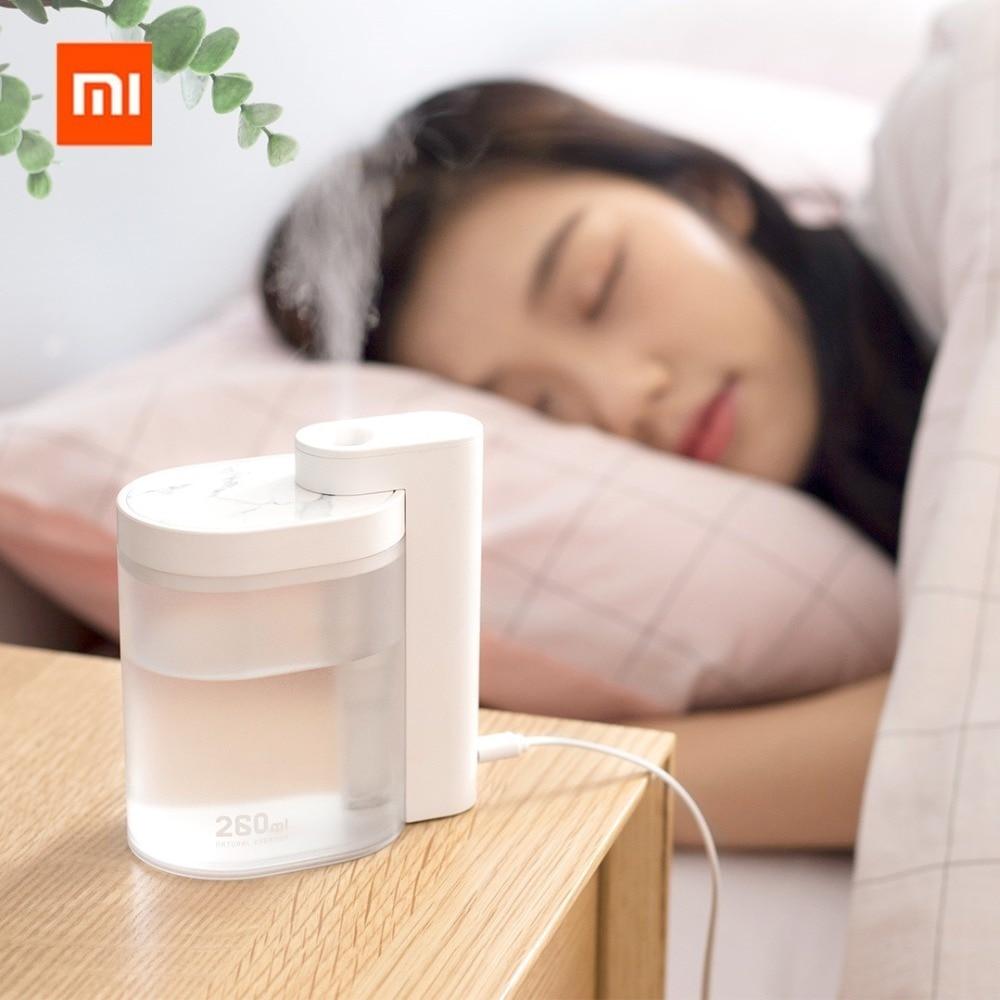 Xiaomi Mijia Youpin Sothing Household Mute Air Humidifier 260ml Ultrasonic Air Humidifier Purifying Humidifier Usb Charging