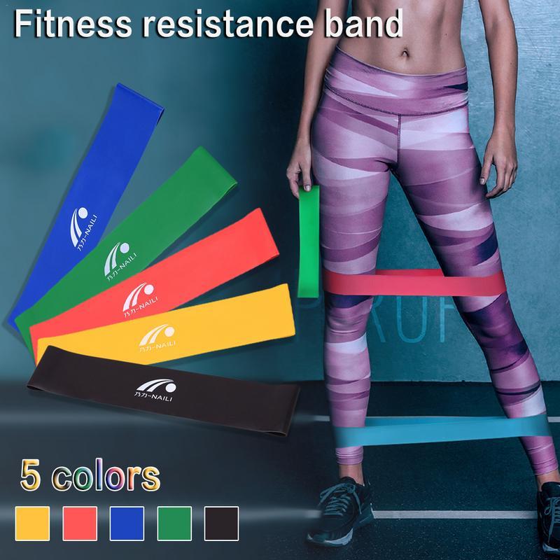 Fitness Gym Resistance Bands Set Elastic Yoga Loop Bands For Fitness Sports Fitness Gym Rubber For Training Workout Expander