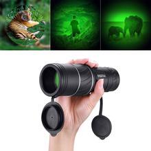 ใหม่40X60 MiniแบบพกพาNight Visionการล่าสัตว์Monocularที่มีประสิทธิภาพCampingกล้องโทรทรรศน์