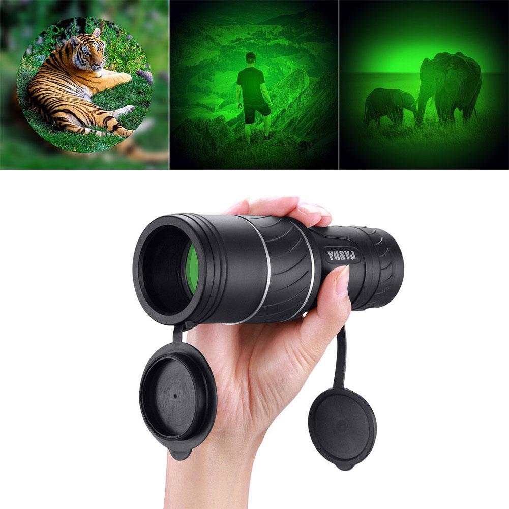 New 40x60 Mini Portable Night Vision Hunting Monocular Powerful Camping Telescope-in Monocular/Binoculars from Sports & Entertainment
