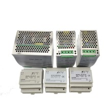 лучшая цена Din Rail Mounting Industrial Switching Power Supply 12/24V 30W 45W 60W 75W 120W 240w with CE for led driver