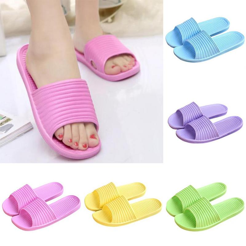 High Quality Women Flat Home Bath Slippers Summer Sandals Non-slip Indoor & Outdoor Shoes Green,Yellow,Purple,Sky blue,PinkHigh Quality Women Flat Home Bath Slippers Summer Sandals Non-slip Indoor & Outdoor Shoes Green,Yellow,Purple,Sky blue,Pink