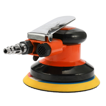 Multifunctional 5 Inches 10000RPM Pneumatic Air Sander Car Paint Care Polishing Machine Electric Woodworking Grinder Polisher car polisher variable speed paint care tool polishing machine sander 220v electric floor polisher