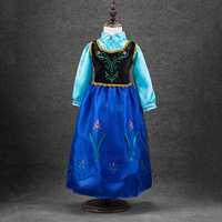 Disney Princess Dress Fashion Dress Ice And Snow Witch From Nepal Dress Shawl Girl Dress