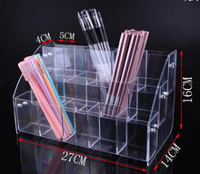Multilayer Pen Holders Cosmetic Brush Eyeshadow Pencil Pens Lipstick Display Stand Rack Support Holder For Organizer Stationery