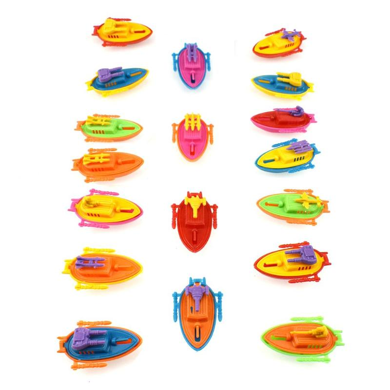 Plastic Cannon Boat Ship Warship Model Toy Capsule Toys Children Kids Model Military Warship Model Toy For Children Gifts
