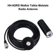 Rondaful HH-N2RS Mini Dual-Band Antenna Magnetic Mount 5M RG58 PL-259 UHF/VHF Set For Car Mobile Radio 5m coaxial cable uhf pl 259 male to female for motorola mobile radio antenna vhd35 t10