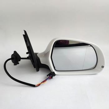 新 12 ピン電源温水 & 調節可能なガラス LED ウインカー用アウディ Q3 2013-15