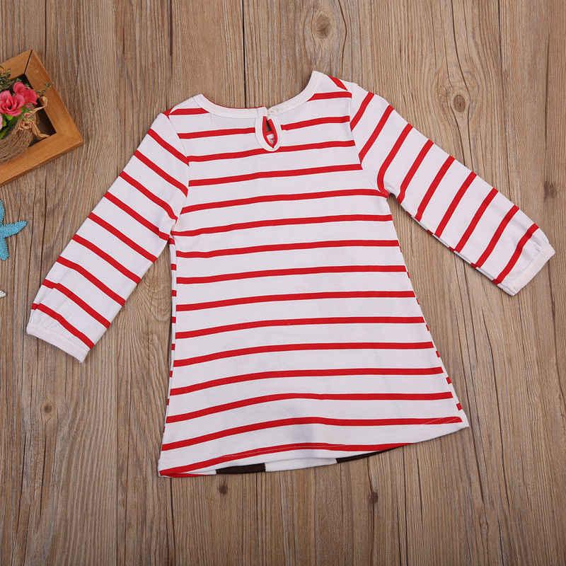 c9a625a7b7cd ... Pudcoco 2019 Brand New Baby Girls Christmas Xmas Reindeer Little Girls  Cute Dress One Piece ...