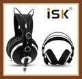 ISK HP980 HP-980 шумоподавление Super Bass закрытый задник Hifi DJ Studio Monitoring Mix Запись наушники гарнитура PK K272