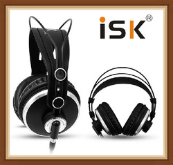 ISK HP980 HP-980 Noise Cancelling Super Bass Closed Back Hifi DJ Studio Monitoring Mix Recording Headphones Headset PK K272