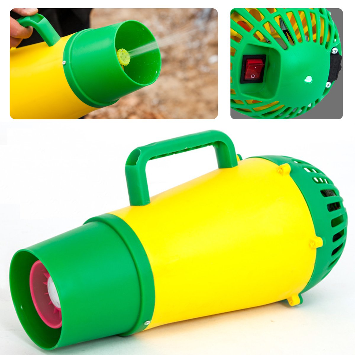 Electric Sprayer Blower Portable Handheld Garden Sprayer Blower Agriculture Pest Control Killer Farm Garden Irrigation Tool