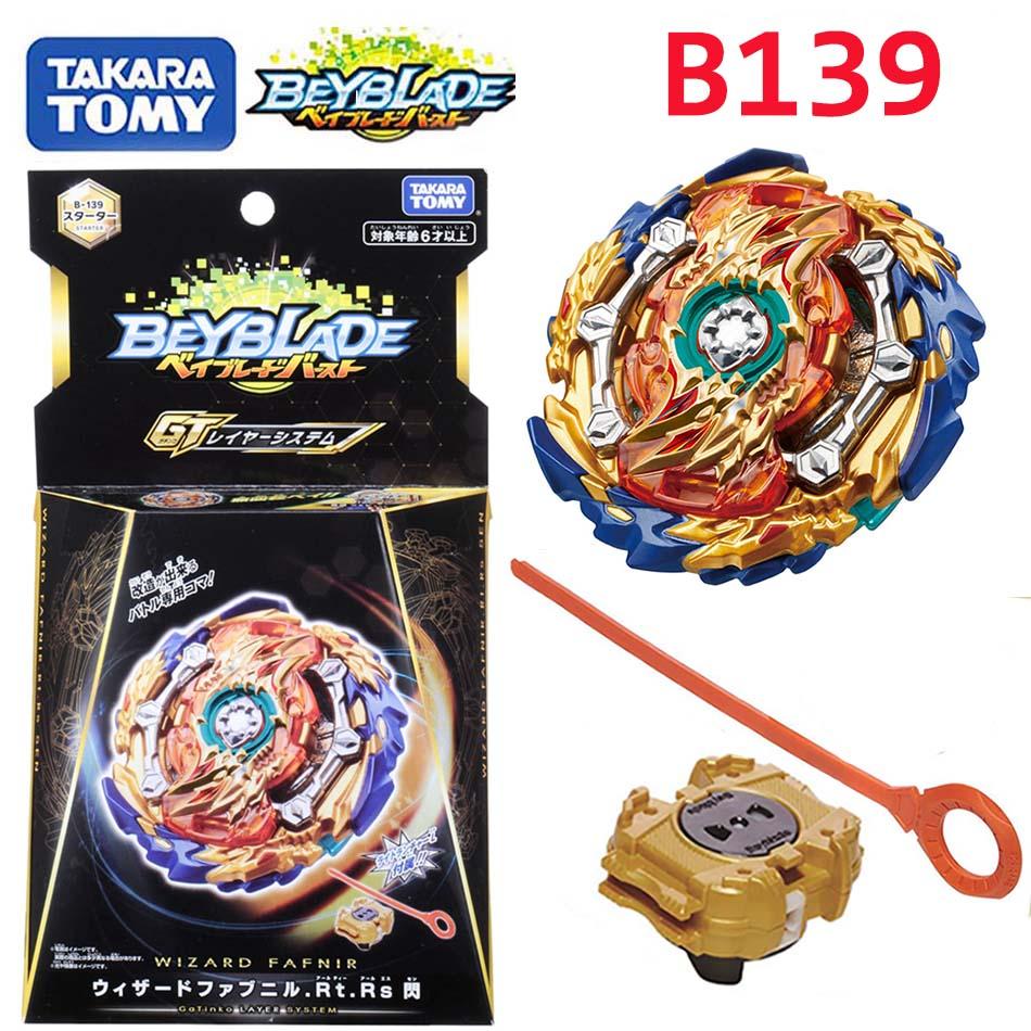 Beyblade Burst GT B139 Wizard Fafnir.Rt.Rs Sen Starter With Launcher Toy B139