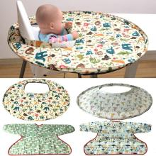 4 типа складные детские Чехлы для обеденного стула переносные коврики обеденные поднос для стула анти-пищевые капли аксессуары для кормления младенцев