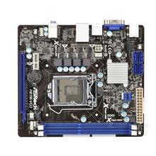 Для материнской платы ASRock H61M-VG3 системная плата H61 слот LGA1155 DDR3 материнская плата SATA2 USB2.0 Поддержка I3 I5 I7