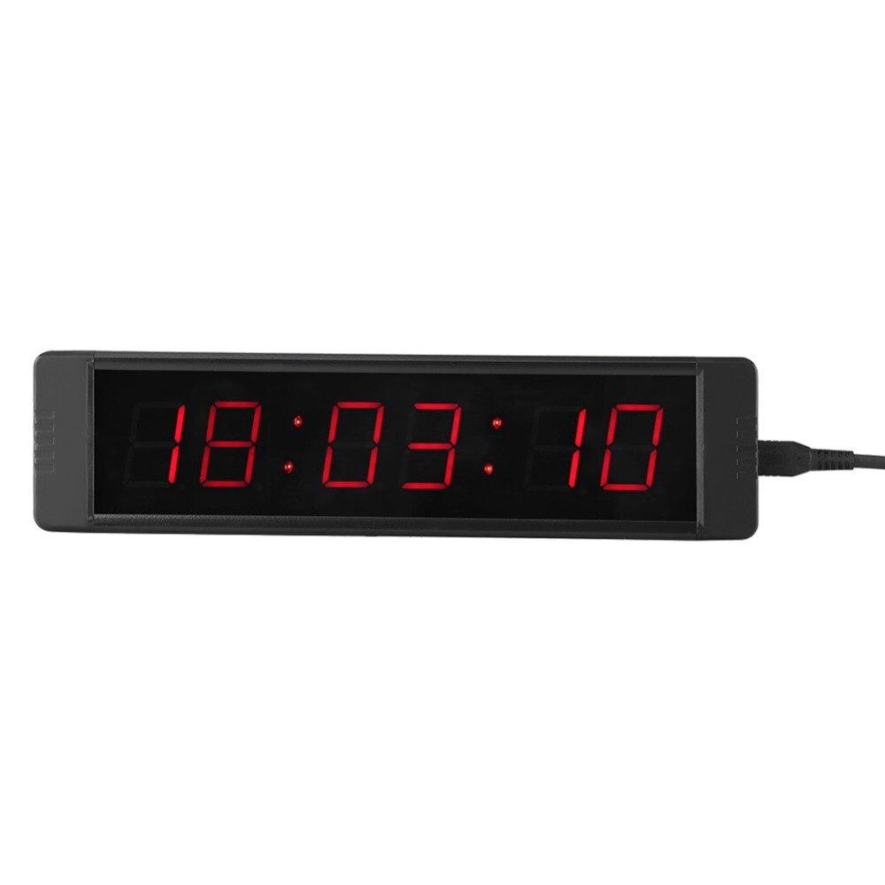 Timer Zielstrebig 1 Set Digital Timer Fitness Wanduhr Led Prescise Timer Stoppuhr Für Fitness Training Countdown-timer Mit Fernbedienung Hot Messung Und Analyse Instrumente