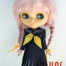 JD2031 Длинные Ангольские мохер милые Анна косы BJD кукольные парики Размер 10-11 дюймов кукольные аксессуары