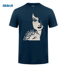GILDAN Death Sandman Neil Gaiman Comic T-Shirt Stranger Things Design T Shirt  New Harajuku Short Sleeve Tops Base