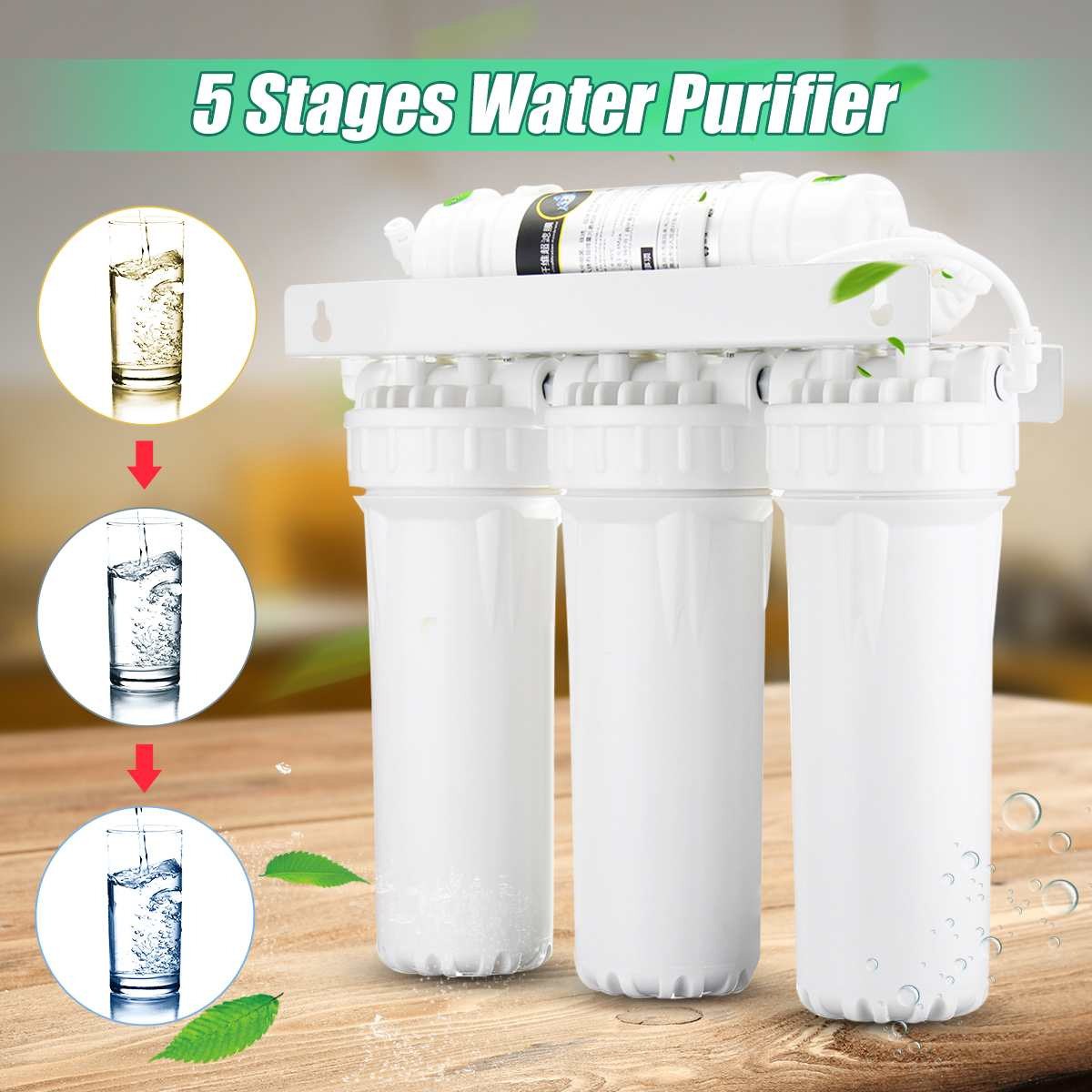 Système de Filtration Ultra en 5 étapes UF purificateur d'eau potable pour la maison